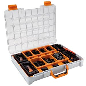 Assortment case — SKINTOP CUBE SORTIMO T-BOXX, 40 piece LAPPKABEL 53110031