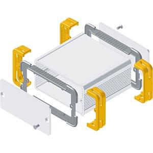 FISCHER Frame-Gehäuse 80x100 FISCHER ELEKTRONIK 10083050