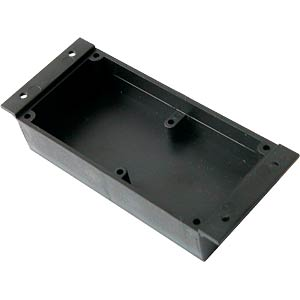 Plastic sealing case, 40 x 40 x 13 mm, black KEMO KSV13 = G059