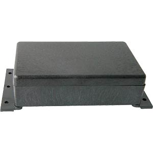Wall-mounted enclosure 120x70x20mm, plastic, black KEMO KSW20 = G084