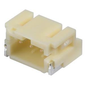JST - Stiftleiste, SMD, 90°, 1x3-polig - PH JST S3B-PH-SM4-TB