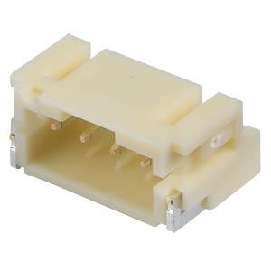 JST — pin header, SMD, 90°, 1x4-pin — PH JST S4B-PH-SM4-TB