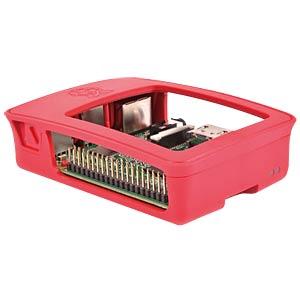 Gehäuse Raspberry Pi 3, himbeer/weiß RASPBERRY PI RASPBERRY-PI-3-CASE-RED