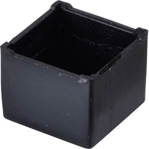 Plastic enclosure black - 11x11x9 mm RND COMPONENTS RND 455-00019