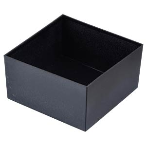 Plastic enclosure black - 75x75x40 mm RND COMPONENTS RND 455-00020