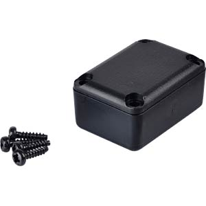 Kunststoffgehäuse 5er-Pack - 29x21x14 mm, sw RND COMPONENTS RND 455-00022