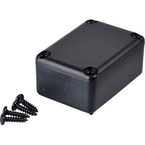 Plastic enclosure black - 34x24x16 mm RND COMPONENTS RND 455-00023
