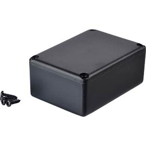 Plastic enclosure black - 54x38x23 mm RND COMPONENTS RND 455-00025