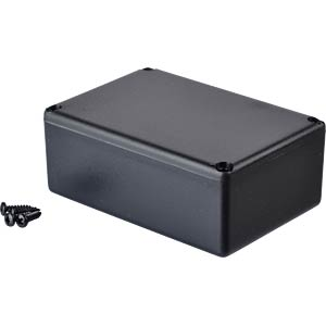 Plastic enclosure black - 64x44x25 mm RND COMPONENTS RND 455-00026