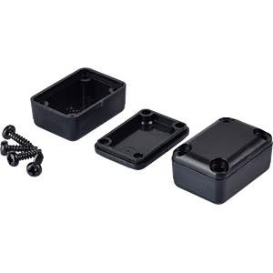 Kunststoffgehäuse 5er-Pack - 23x16x11 mm, sw RND COMPONENTS RND 455-00032