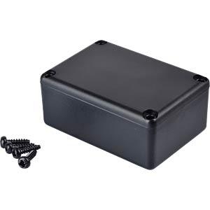 Plastic enclosure black - 46x32x20 mm RND COMPONENTS RND 455-00034