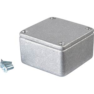Metal enclosure grey - 50x50x31 mm, Die cast RND COMPONENTS RND 455-00036