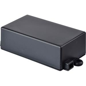 Plastic enclosure black - 65x38x22 mm RND COMPONENTS RND 455-00054