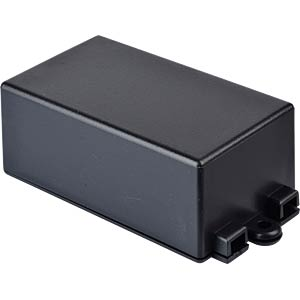 Plastic enclosure black - 65x38x27 mm RND COMPONENTS RND 455-00055