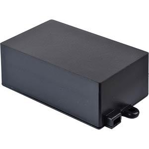 Plastic enclosure black - 72x44x27 mm RND COMPONENTS RND 455-00057