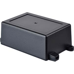 Plastic enclosure black - 82x57x33 mm RND COMPONENTS RND 455-00058