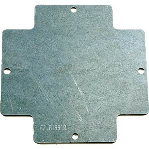 Mounting plate for CombiBox 1 ROSE 02.01 99 10