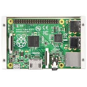 Gehäuse für Raspberry Pi 3, Alu, silber FREI