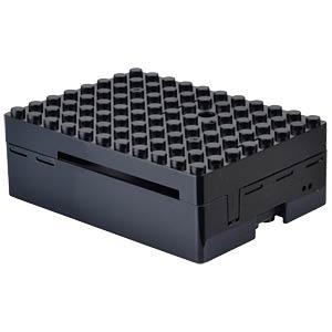 Gehäuse für Raspberry Pi 3, Lego, schwarz MULTICOMP CBPIBLOX-BLK