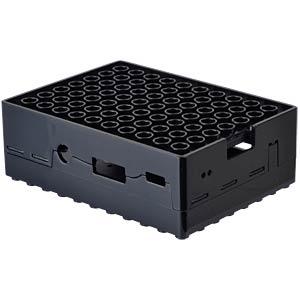 Case Raspberry Pi B+, 2 & 3, black MULTICOMP CBPIBLOX-BLK