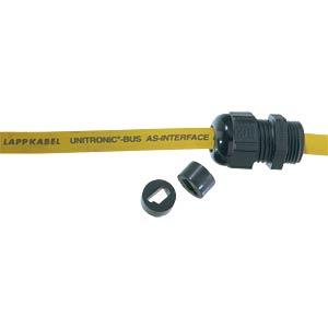 Mehrfachdichteinsatz, M 20, 1-fach, AS-I, schwarz, IP54 LAPPKABEL 53611001