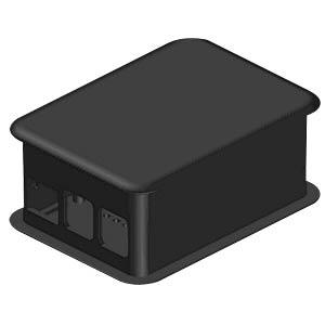 Gehäuse für Raspberry Pi 3, schwarz TEKO TEK-RPI-X3.9