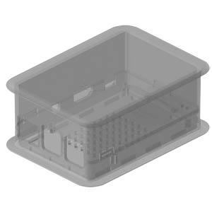 Design-Gehäuse Raspberry Pi B+, 2 & 3, tr TEKO TEK-RPI-X3.0