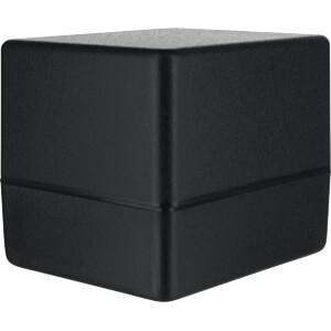 Enclosure SMART ABS, 76 x 63,5 x 63,4 mm, black TEKO SR26-DB.9