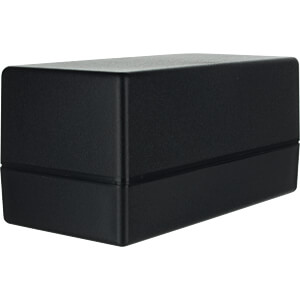 Enclosure SMART ABS, 128 x 63,5 x 63 mm, black TEKO SR37-DB.9