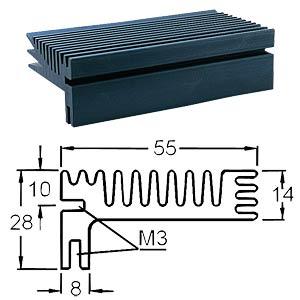 Spezial-Kühlkörper, 94x55x28mm, 3,6K/W FREI