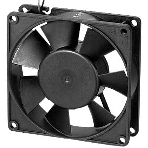 Axial fan, 24V DC, 92 x 92 x 32mm, rpm: 2650 EBM-PAPST 3314NN