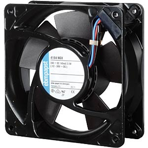 Axial fan, 24V DC, 119 x 119 x 38 mm, rpm: 2800 EBM-PAPST 4184NGX