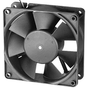 Axial fan, 24V DC, 119 x 119 x 38 mm, rpm: 3200 EBM-PAPST 4184NX
