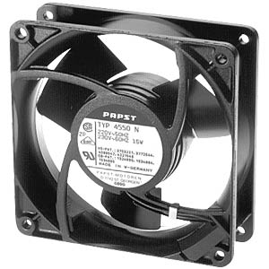 Axial fan, 230VAC, 119 x 119 x 38 mm, rpm: 2350 EBM-PAPST 4580N
