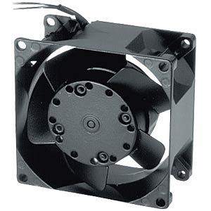 Axiallüfter,230VAC,80x80x38mm,U/min: 2650 EBM-PAPST 8556VW