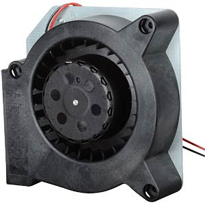 Radial fan, 12V DC, 121 x 121 x 37 mm, rpm: 2500 EBM-PAPST RL90-18-12N