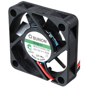 Fan 92x92x25 mm/24 V/0.087 A SUNON ME92252V1-000U-A99