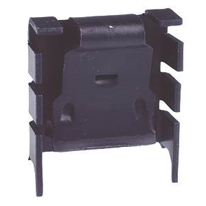 Clip-on heat sink, 25.4x25.0x8.3mm, 18K/W FREI