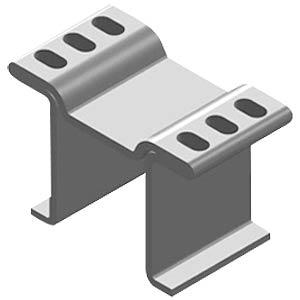 Copper heat sink for LF PAK, 15x8x10mm FREI