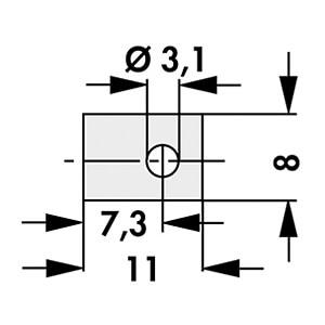 GLIMMER SOT 32 - Glimmerscheibe für Gehäuse SOT 32