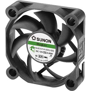 Fan 40x40x10 mm/12 V/0.065 A SUNON HA40101V4-000U-999
