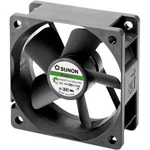 Fan 60x60x25 mm/12 V/0.060 A SUNON HA60251V4-000-999