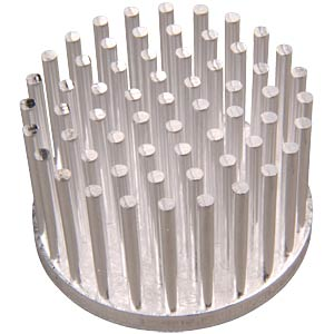 Pin heat sink round, Ø 28.5 x 18.5 mm FISCHER ELEKTRONIK 10006880