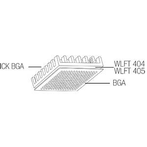Heat sink for BGA, 14 x 14 x 6 mm FISCHER ELEKTRONIK 10037021