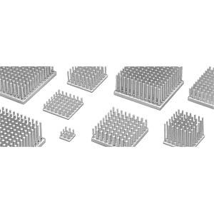 Stiftkühlkörper quadratisch, 17x17x20mm FISCHER ELEKTRONIK 10006852