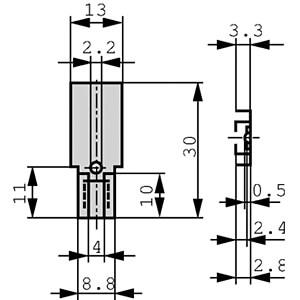 KK 32 SA - Kühlkörper