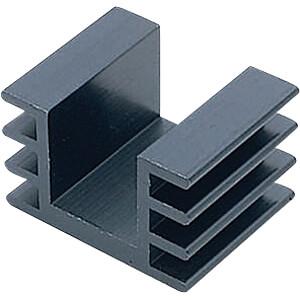 Kühlkörper, 1000 mm, Alu, 5,5 K/W@ L=100 mm AUSTERLITZ KS32-1000E