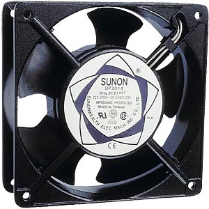 Lüfter, 220V AC, 80x80x25mm, U/Min:2350 SUNON SF 23080 AT 2082 HSL.GN
