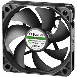 Fan 60x60x15 mm/12 V/0.16 A SUNON ME60151V1-0000-999