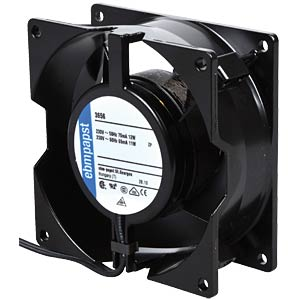 Axiallüfter,230VAC,92x92x38mm,U/min: 2700 EBM-PAPST 924 4014 700